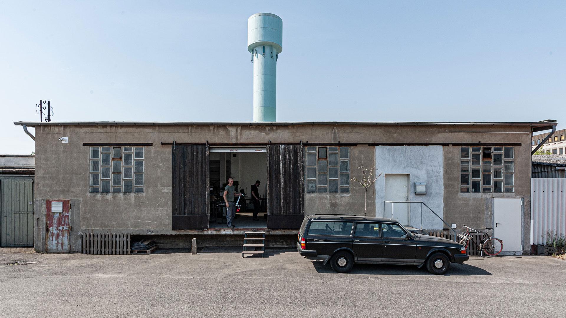 Werkstattgebäude – Johannes Sitsen Metallbaumeister