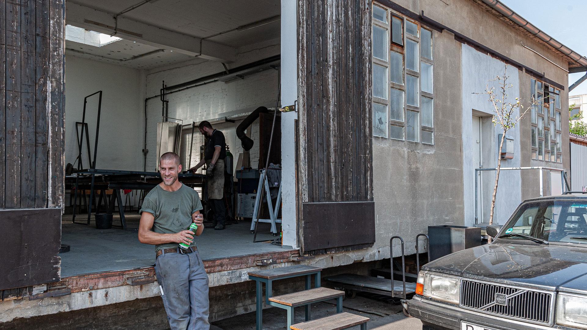 Laderampe – Johannes Sitsen Metallbaumeister