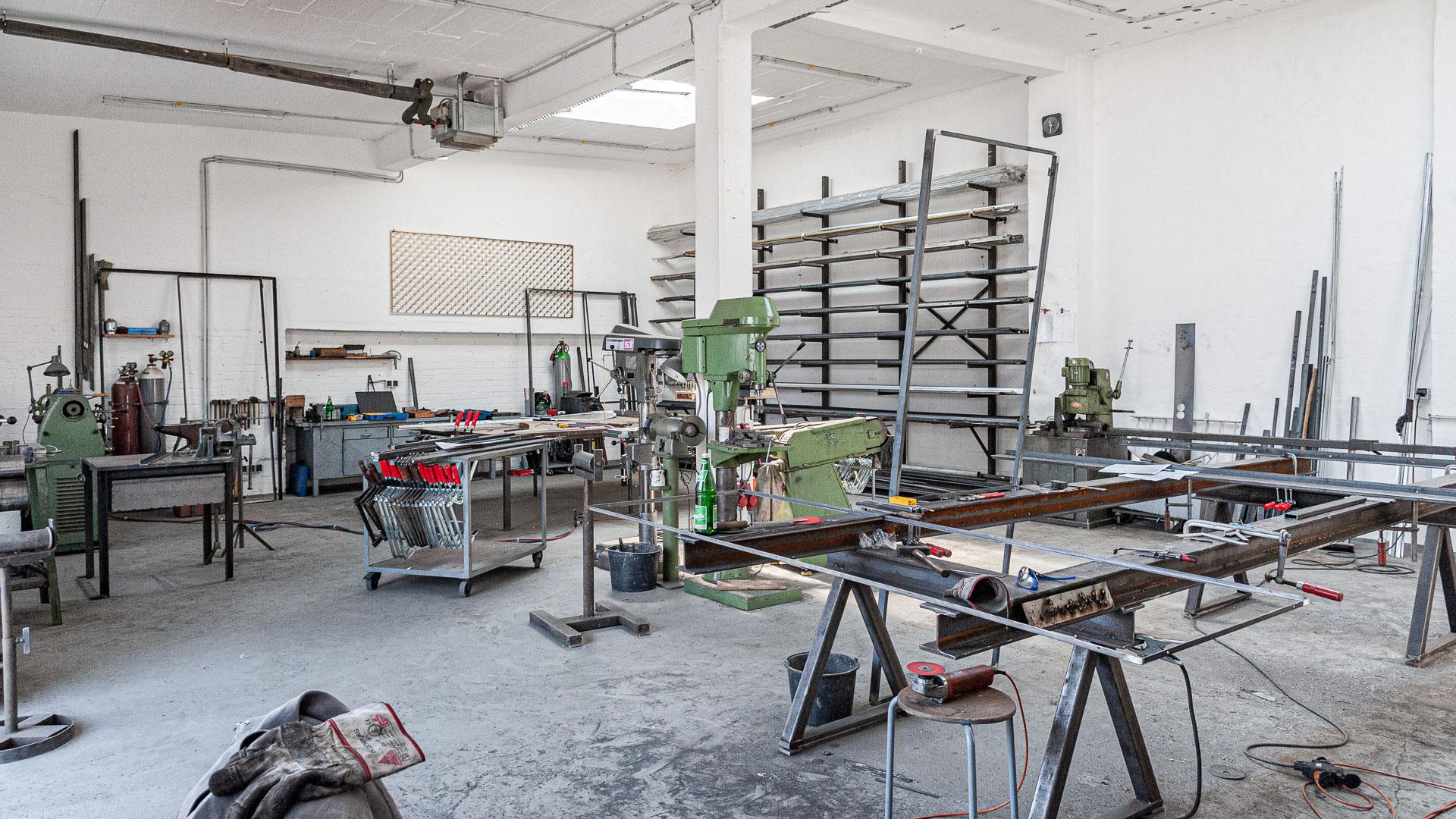 Werkstatt – Johannes Sitsen Metallbaumeister