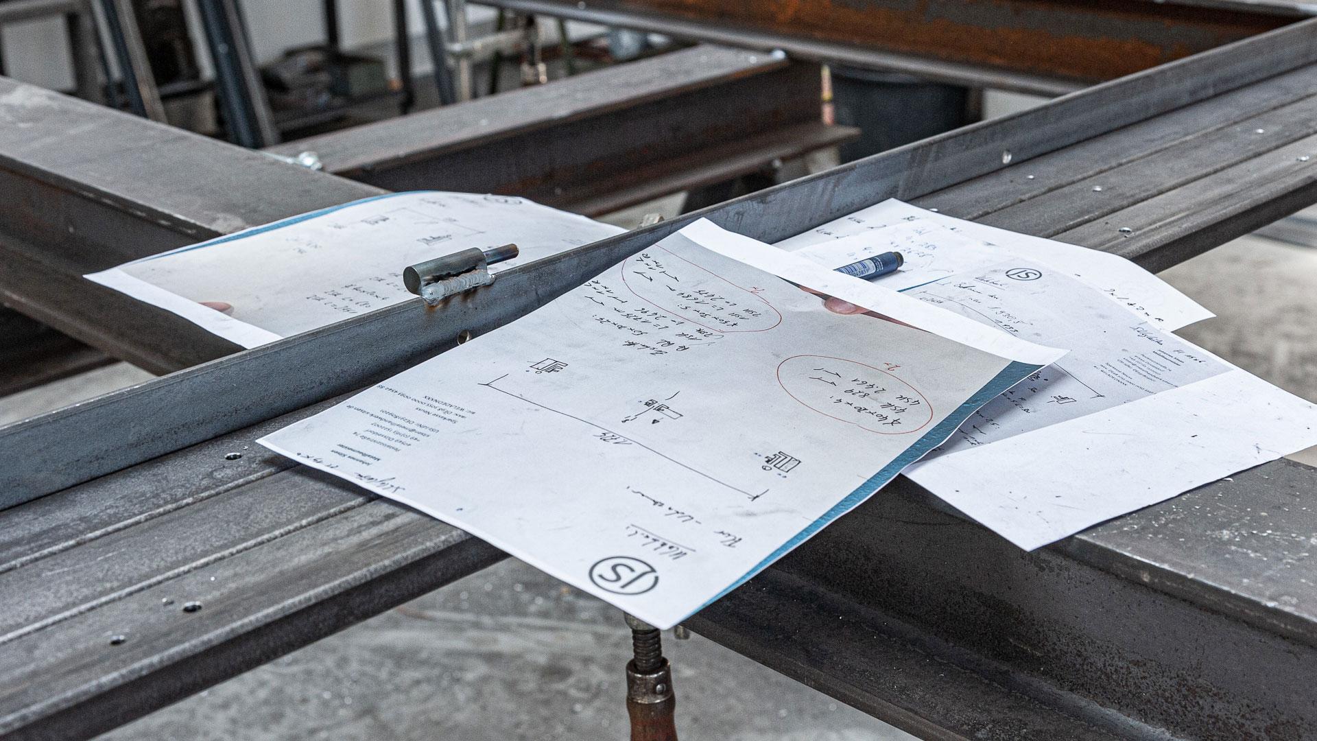 Werkstatt Notizen – Johannes Sitsen Metallbaumeister
