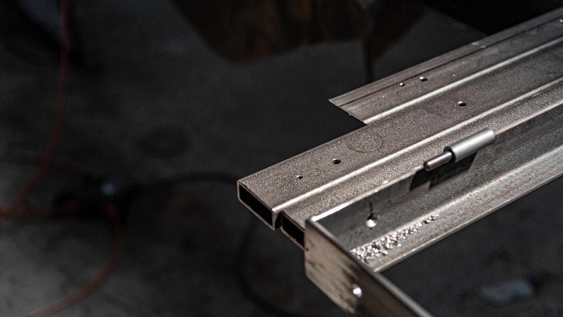 Detail Metalltür – Johannes Sitsen Metallbaumeister
