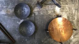 Kerzenständer in Bronze