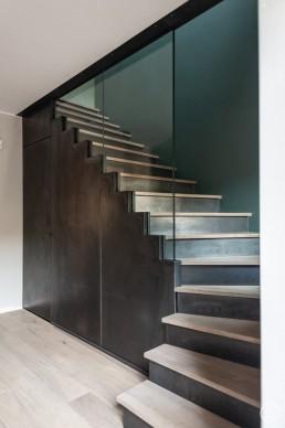 Treppenanlage für ein Einfamilienhaus