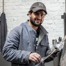 Mitarbeiter Fahin F., Auszubildender bei Metallhandwerk Sitsen