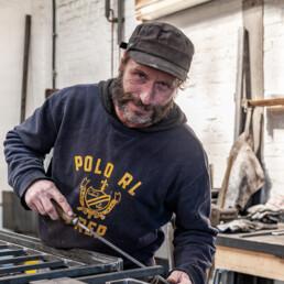 Mitarbeiter Patrick K., Geselle bei Metallhandwerk Sitsen
