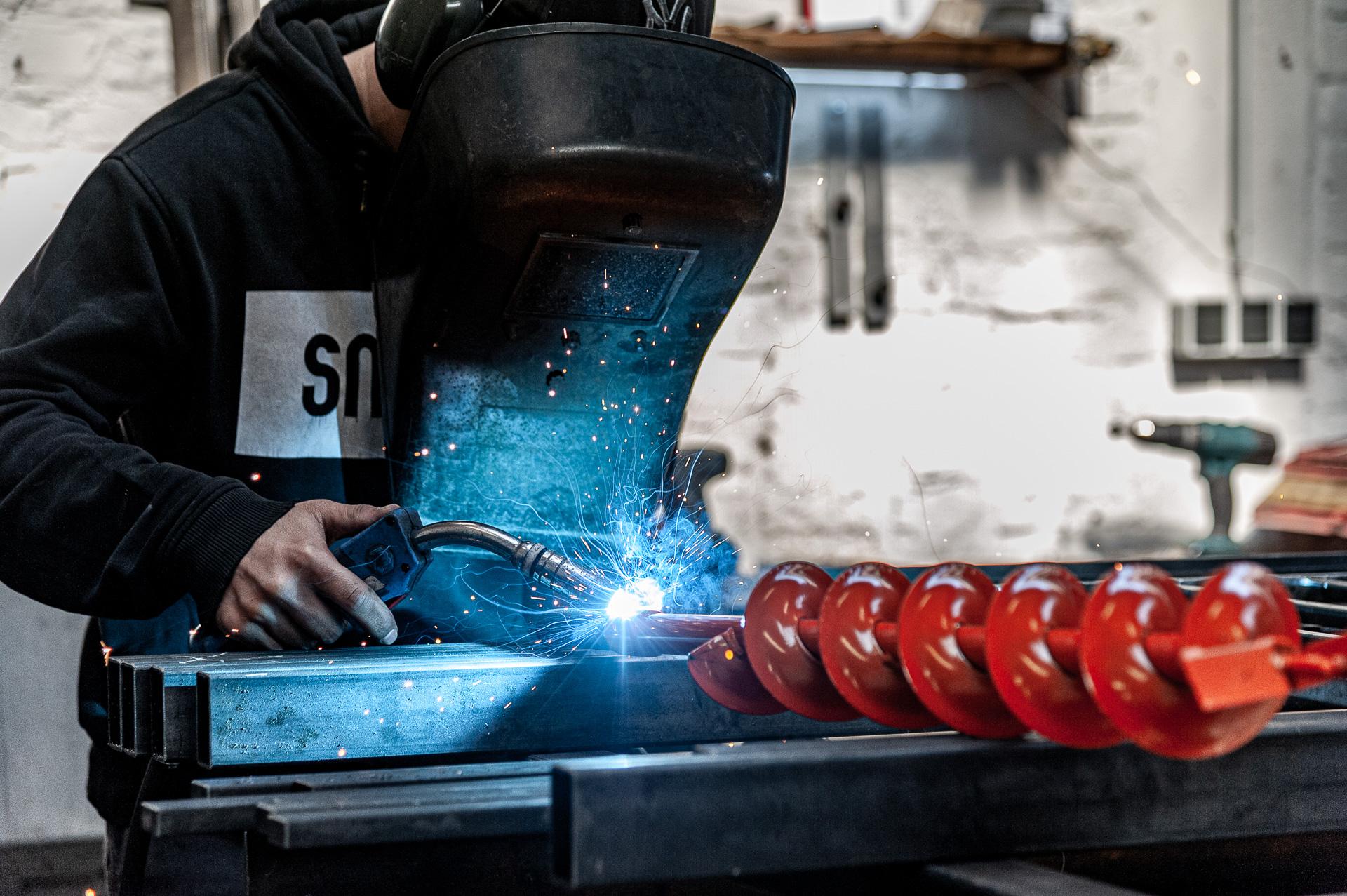 Schweißarbeiten, Metallhandwerk Sitsen